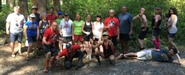Click to enlarge: the Lizard Lake Run Rabble