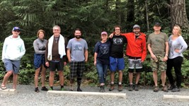 The 2018 Sooke Poteholes Rabble: Click to enlarge