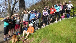 Click to enlarge: Madness of the March Hare Run Rabble Shot