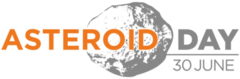 Asteroid Day Logo: Click to enlarge