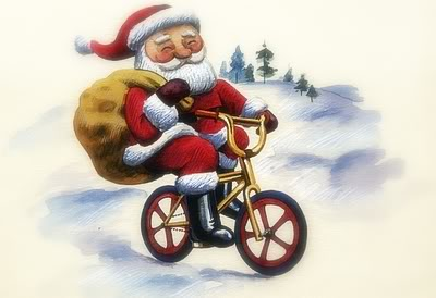 BMX Santa: Click to enlarge