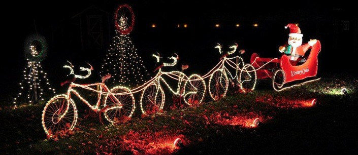 Bike Reindeers: Click to enlarge